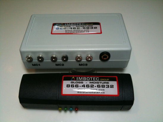 Picture of MIZA IRH-03 RH/T Sensor Plus Moisture Track Data Logger