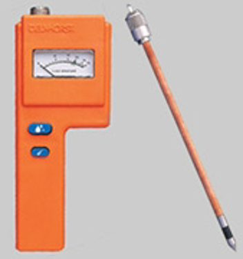 "Picture of Delmhorst F-6/6-30/1235, 6%-30% MC Hay Moisture Meter c/w 10"" Prod, no case"