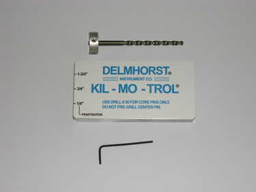 Delmhorst Drill Kit & Template