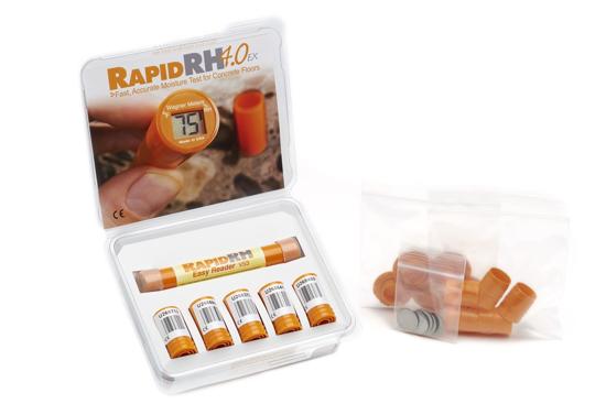 Wagner Rapid RH 4.0® EX - 5 Smart Sensors 1 Easy Reader - Fahrenheit