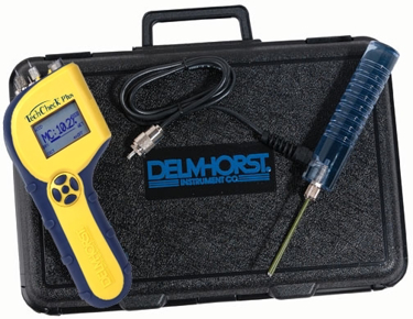 Delmhorst TechCheck PLUS Moisture Meter Package