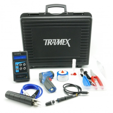 Picture of Flooring Inspection Kit -  includes CMEX 2, 3 Hygro-i Probes, HH14TP30, IRTX, SAL75, and 12 hole liners