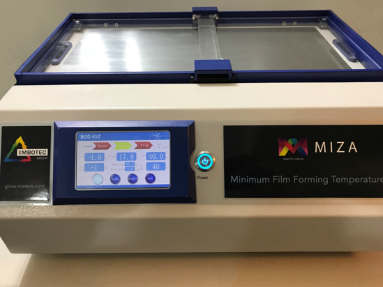 MFFT 70 - Minimum Film-Forming Temperature Bar