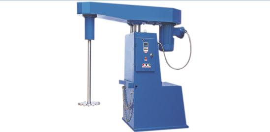 Single-Shaft High Speed Disperser 8.5 KW Motor; Mechanical lift