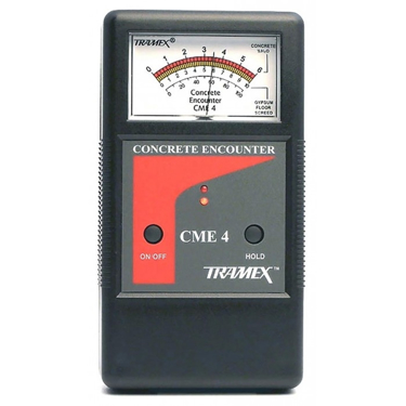 Tramex Concrete Encounter CME4 Moisture Meter