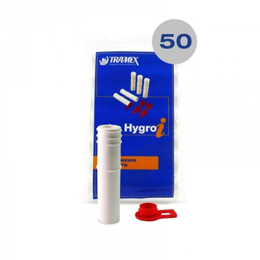 50 Hygro-i Tramex Concrete Hole Liners/Sleeves and Caps