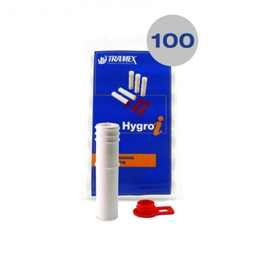 100 Tramex Concrete Hole Liners/Sleeves and Caps for Hygro-i