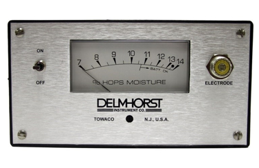 Delmhorst G-34 Hops Moisture Meter with H-4, 830-5, MCS-44 with Carrying Case