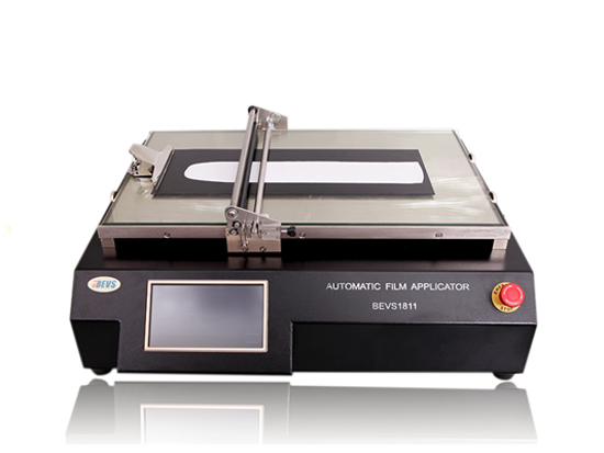 Automatic Film Applicator Glass Bed