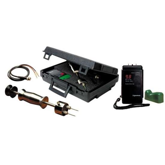 Lignomat Mini Ligno DX/C Pin Moisture Meter, Hardwood Package