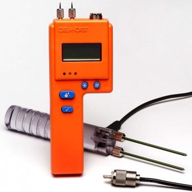 Delmhorst BD-2100 Moisture Meter, Hand Electrode Package