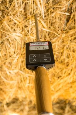 "MIZA Hay & Straw Moisture Meter 20"" (50cm) with Temperature Reading"