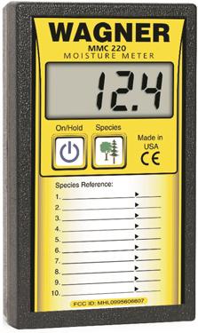 Wagner MMC220 Moisture Meter Extended Range
