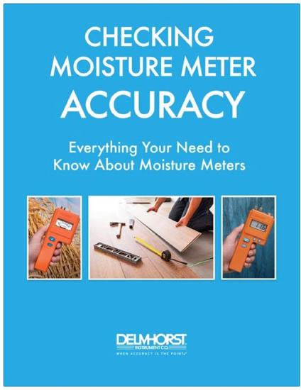 Checking Moisture Meter Accuracy