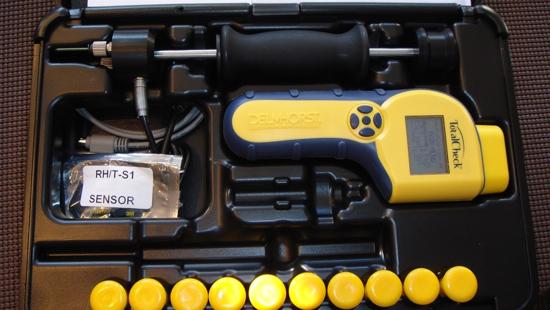 Delmhorst TotalCheck Moisture Meter Flooring Package
