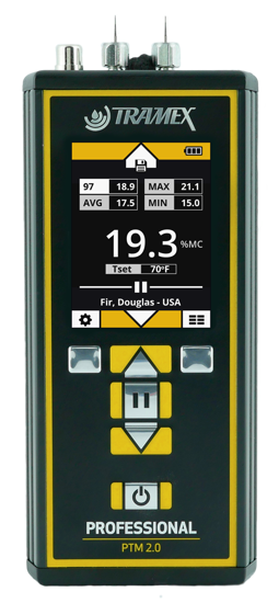 Tramex PTM 2.0 Professional Pin Wood Meter