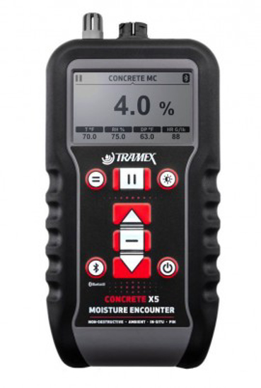 Tramex CMEX5 Concrete Moisture Meter