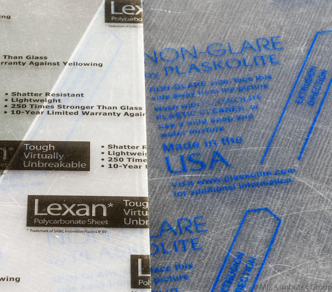 Plexiglass Haze Sample